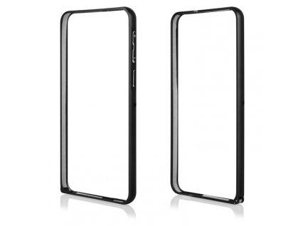 Pouzdro Bumper ALU METAL hliníkový rámeček HTC Desire 820 černý