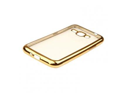 GLOSSY CASE pouzdro Samsung J120 Galaxy J1 (2016) gold / zlaté