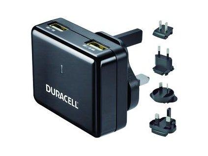 Duracell DR6001A nabíječka World černá 110-240V