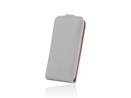 SLIGO Plus vyklápěcí pouzdro Huawei P9 (EVA-L09, EVA-L19) bílé