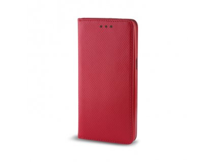 Pouzdro Smart Magnet pro Huawei P8 Lite (ALE-L21) červené