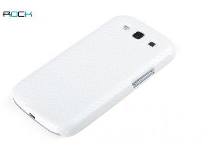 Rock Jewel kryt pro Samsung i9300, i9301 Galaxy S3 white / bílý (blister)