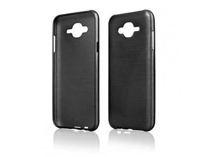 Pouzdro JELLY Case Metalic Samsung J700 Galaxy J7 černé