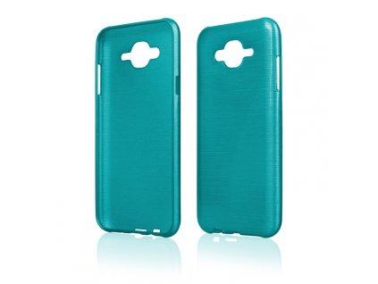 Pouzdro JELLY Case Metalic Samsung J700 Galaxy J7 modré