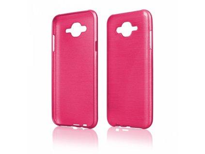 Pouzdro JELLY Case Metalic Samsung J700 Galaxy J7 růžové