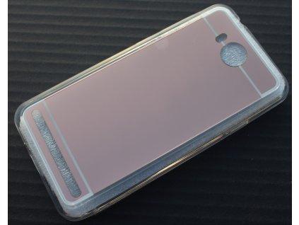 MIRROR CASE pouzdro Huawei Y3 II rose-gold / růžovo-zlaté