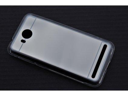 MIRROR CASE pouzdro Huawei Y3 II silver / stříbrné
