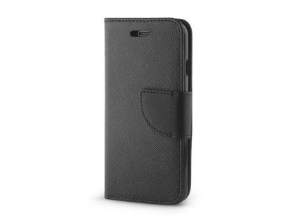 Smart Book pouzdro iPhone 5 / 5S / SE černé (FAN EDITION)