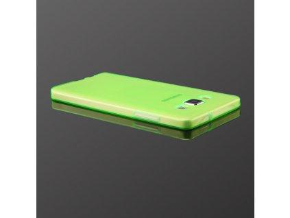 Pouzdro FITTY Ultra Tenké 0,3mm Samsung A700 Galaxy A7 zelené