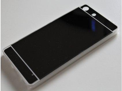 MIRROR CASE pouzdro Sony Xperia M5, E5603 black / černé