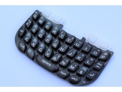 Blackberry 8520 Curve klávesnice černá / bílá