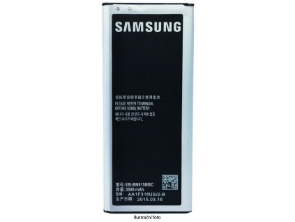 SAMSUNG baterie EB-BN915B N915 Galaxy Note4 Edge - 3000 mAh (bulk)