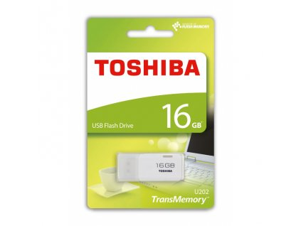 Toshiba USB Flash disk 16GB white (U202W0160E4)