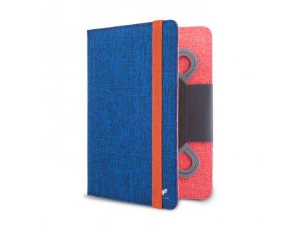 """Beeyo Slim Dual univerzální pouzdro na tablet 7-8"""" modrá / oranžová"""