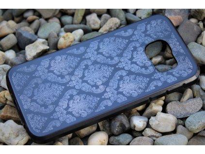 Pouzdro ORNAMENT pro Samsung G920 Galaxy S6 černé
