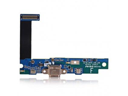 Flex kabel + mikrofon + dobíjecí konektor pro SAMSUNG N915 Galaxy Note4 EDGE
