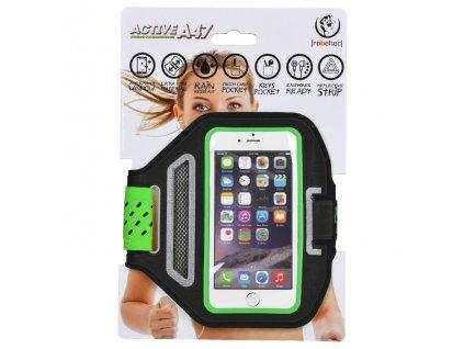 """Rebeltec Active A47 bicepsové pouzdro na telefon 4,7"""" černé"""
