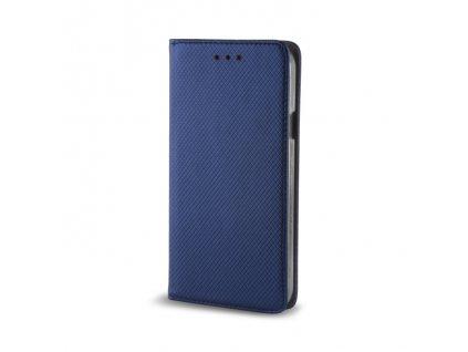Pouzdro Smart Magnet pro Huawei Y6 2017 / Y5 2017 modré