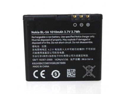 NOKIA baterie BL-5A, 502 Asha - 1010 mAh (bulk)