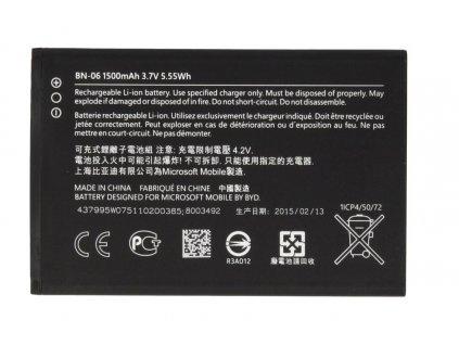 NOKIA (Microsoft) baterie BN-06, 430 Lumia - 1500 mAh (bulk)