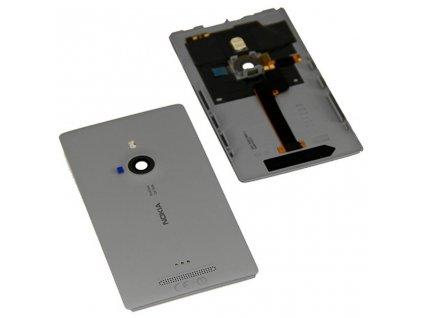 Nokia 925 Lumia zadní kryt šedý (00810B6)