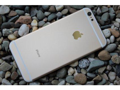 """iPhone 6 Plus (5,5"""") zadní + střední kryt gold / zlatý"""