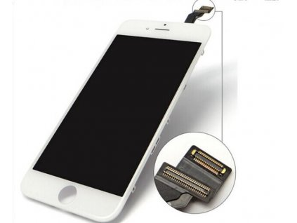"LCD displej + dotyková deska iPhone 6 (4,7"") AAAA white - OEM NÁHRADNÍ DÍL"