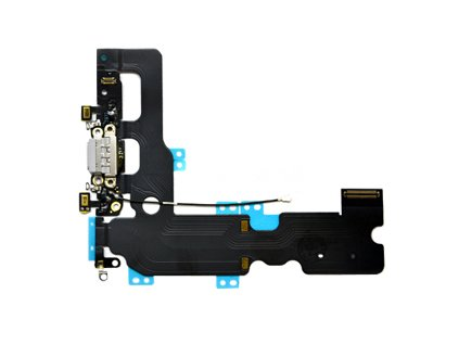 """Flex kabel pro iPhone 7+ (5,5""""), systémový konektor black - OEM"""