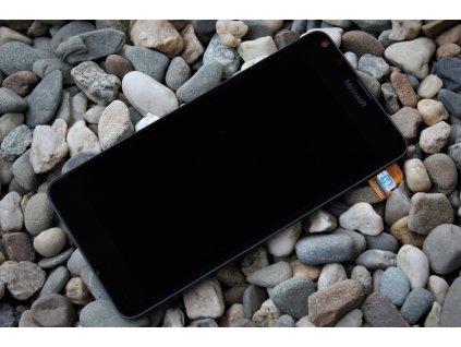 Microsoft Lumia 640 LCD displej + dotyková deska + rámeček black (OEM)