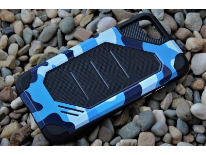 "Defender ARMY Case odolné pouzdro iPhone 7 / 8 (4,7"") blue / modré"