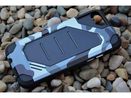 """Defender ARMY Case odolné pouzdro iPhone 7 / iPhone 8 (4,7"""") grey / šedé"""