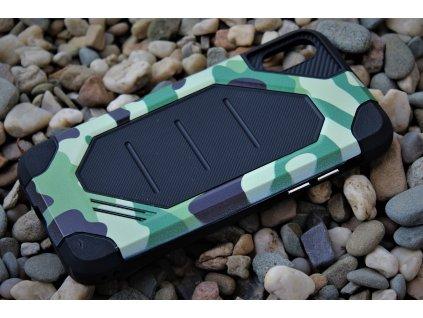 Defender ARMY Case odolné pouzdro iPhone X / Xs green / zelené