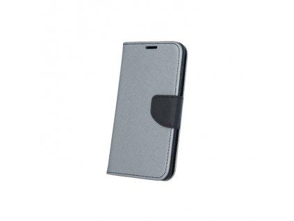 Smart Book pouzdro Huawei P9 Lite MINI šedá / černá (FAN EDITION)