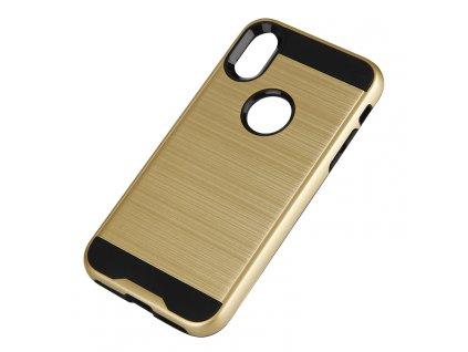 MOTOMO odolné pouzdro pro iPhone X / Xs gold / zlaté