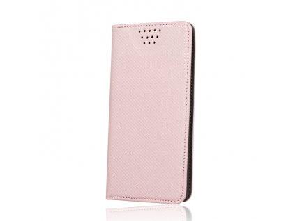 """Smart Book pouzdro univerzální pro telefony 5,5"""" - 5,7"""" rosegold (MAG EDITION)"""