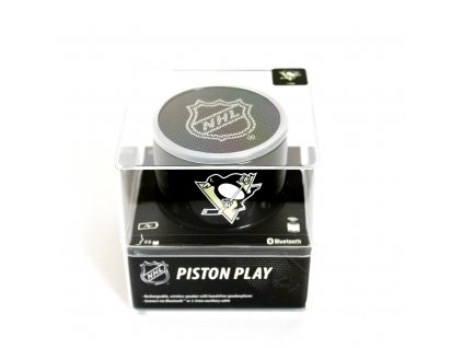 NHL Piston Play bluetooth reproduktor - Pittsburgh Penguins - LGX-11101