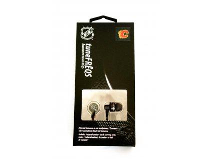 NHL handsfree - Calgary Flames - LXG-11135 - černé