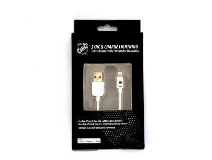 NHL lightning datový kabel pro iPhone / MFI - Montreal Canadians - LGX-11204