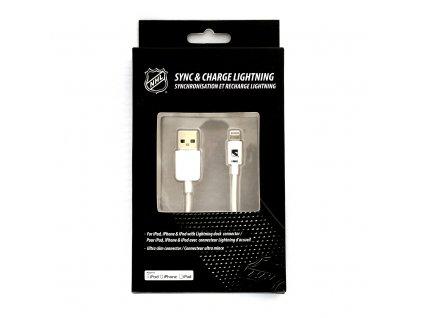 NHL lightning datový kabel pro iPhone / MFI - New York Rangers - LGX-11219