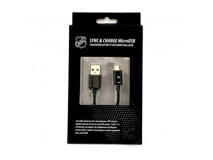 NHL LGX-11242 micro USB datový / dobíjecí kabel - Nashville Predators