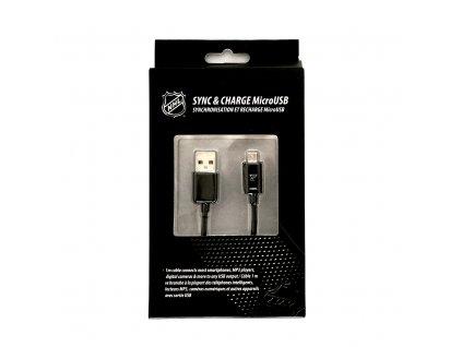 NHL LGX-11243 micro USB datový / dobíjecí kabel - St. Louis Blues