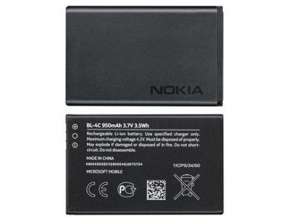 NOKIA baterie BL-4C 6131, 6300, C2-05 - 950 mAh (bulk)