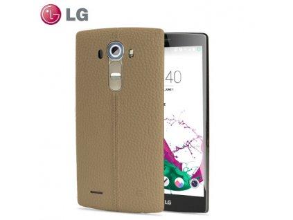 LG CPR-110 Hard Case pouzdro LG G4 (H815) beige / béžové (blister)