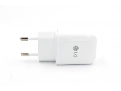 LG MCS-H06EP nabíječka s výstupem USB white / bílá (bulk) 1800mA