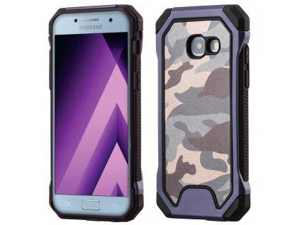 ARMORO Case odolné pouzdro Samsung A520 Galaxy A5 (2017) camo blue / modrá maskáč