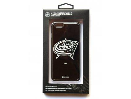 "NHL Aluminium Shield LGX-11516 pouzdro iPhone 6+ / 6S+ (5,5"") Colombus Blue Jackets"