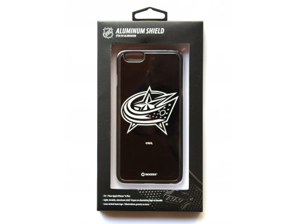 "NHL Aluminium Shield LGX-11516 pouzdro iPhone 6+ / 6S+ (5,5"") Colombus Blue Jackets"