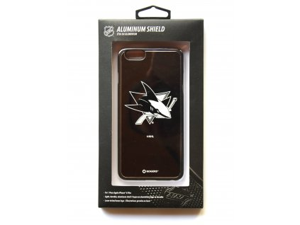 "NHL Aluminium Shield LGX-11528 pouzdro iPhone 6+ / 6S+ (5,5"") San Jose Sharks"