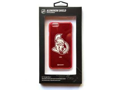 "NHL Aluminium Shield LGX-11535 pouzdro iPhone 6 / 6S (4,7"") Otawa Senators"
