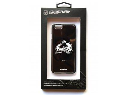 "NHL Aluminium Shield LGX-11539 pouzdro iPhone 6 / 6S (4,7"") Colorado Avalanche"